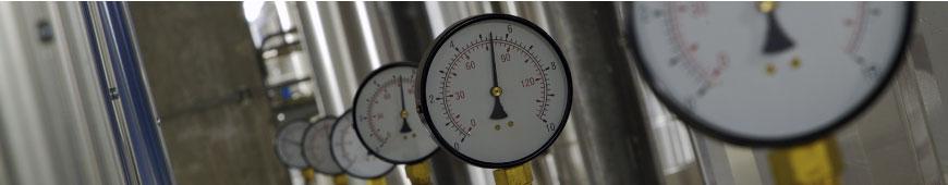 Calibração de Instrumentos de pressão e válvulas de segurança.
